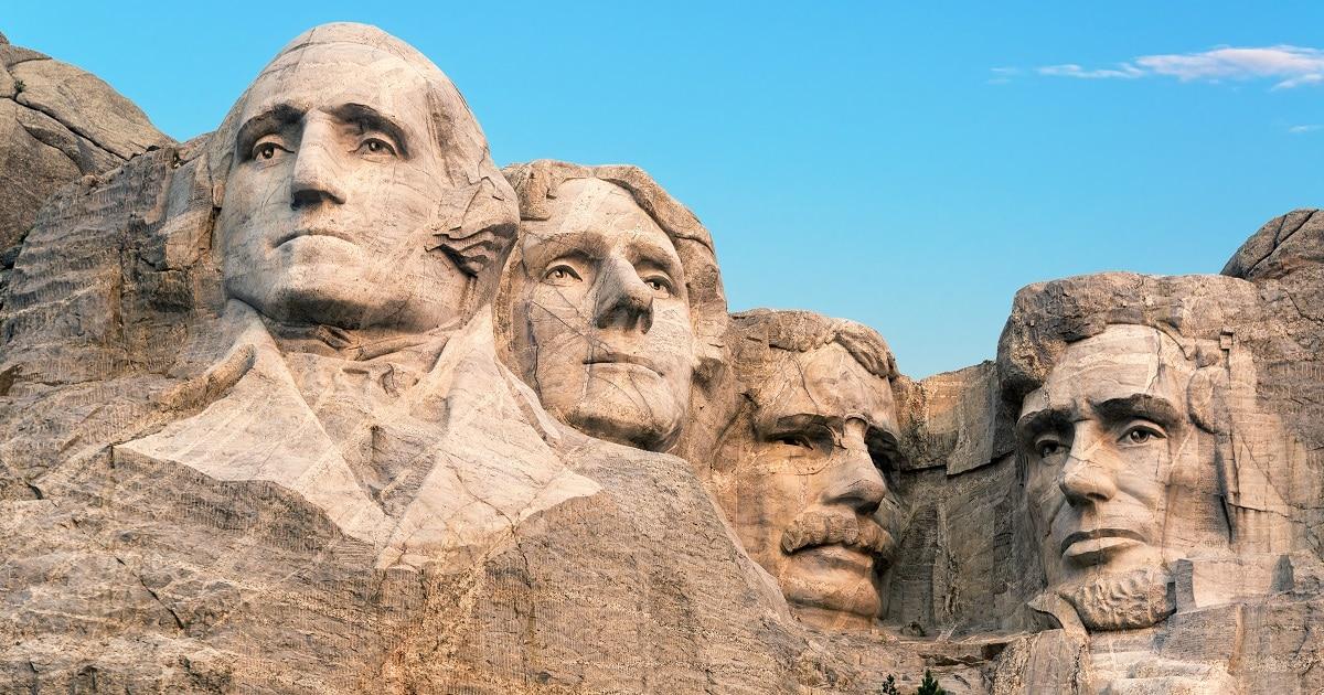 Mount Rushmore Closeup