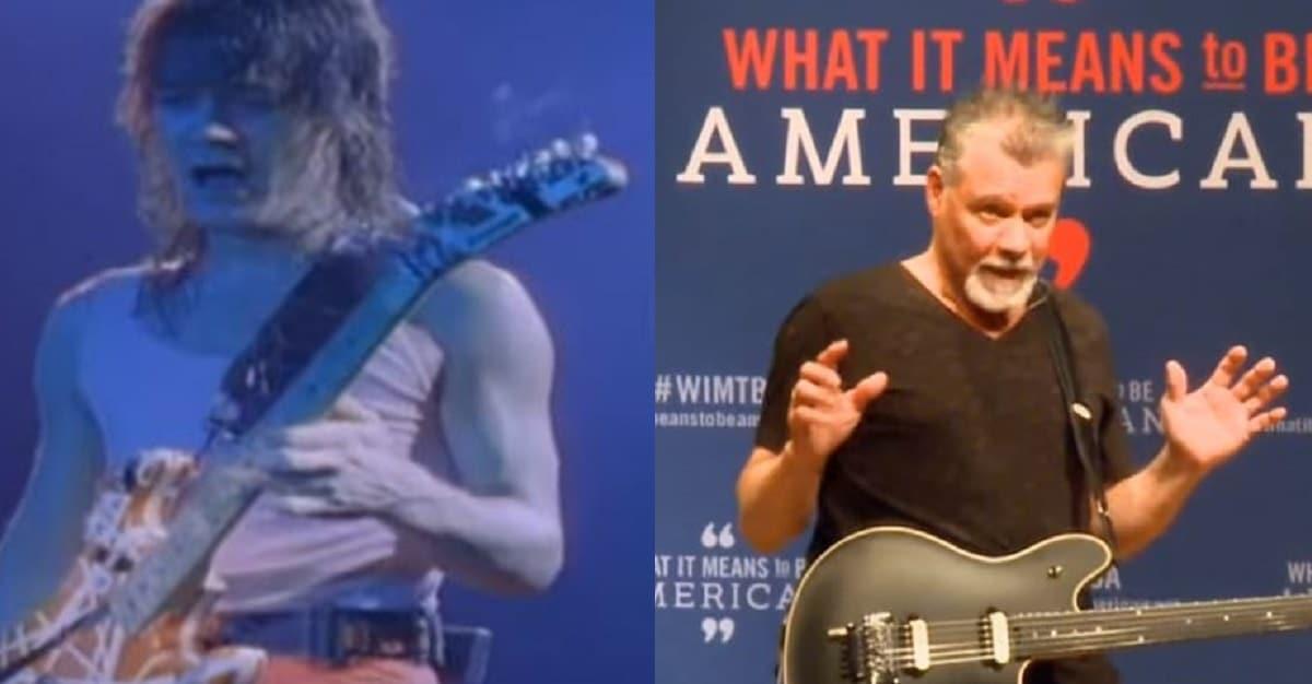 Rock Legend Eddie Van Halen Dead at 65 - Conservative ...