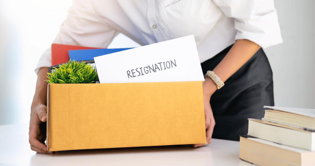 Quit Resigned
